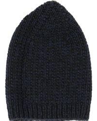 Werkstatt:münchen - Werkstatt:münchen Knitted Cap - Lyst