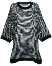 ANREALAGE - Oversized Jumper - Lyst
