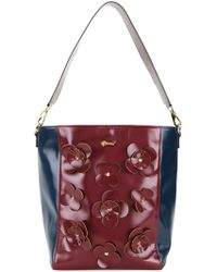 MUVEIL | Flower Appliqué Shoulder Bag | Lyst