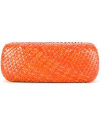 Serpui - Straw Sunglass Case - Lyst
