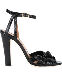 Scanlan Theodore - Knot Front Sandals - Lyst