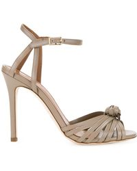 Scanlan Theodore - Knot Front Heeled Sandals - Lyst