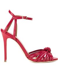 Scanlan Theodore | Knot Front Heeled Sandals | Lyst