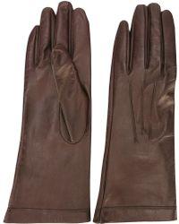 Plein Sud - Stitch Detail Gloves - Lyst