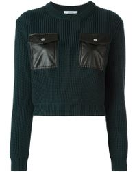 Carven - Chest Pockets Jumper - Lyst