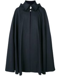 Vivienne Westwood - Hooded Cape Coat - Lyst