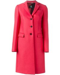 PS by Paul Smith | Single Breasted Coat | Lyst