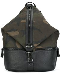Hydrogen - Camouflage Print Backpack - Lyst