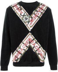 Andrea Crews - Striped Sweatshirt - Lyst