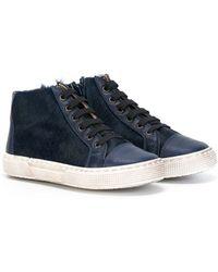 Sale - Leather Low Top Trainers - Pèpè Pepe Jeans London 02IH3
