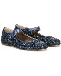 Pepe Jeans - - Glitter Ballerinas - Kids - Cotton/leather/polyethylene/rubber - 30 - Lyst