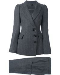 Ermanno Scervino - Fitted Trouser Suit - Lyst