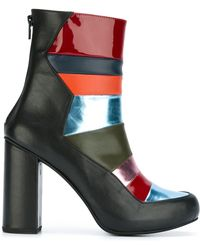 House of Holland | Panelled Ankle Boots | Lyst
