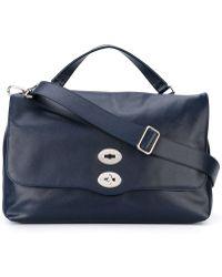 Zanellato - Flap Closure Tote Bag - Lyst