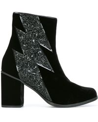 House of Holland | Thunder Detail Ankle Boots | Lyst
