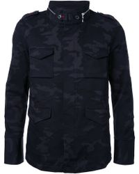 Loveless - Camouflage Print Jacket - Lyst