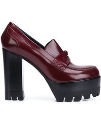 Mulberry - - Platform Loafer Pumps - Women - Calf Leather - 37 - Lyst