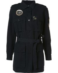 Figue - Embellished Military Coat - Lyst