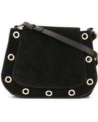 L'Autre Chose - Eyelet-Detail Leather Shoulder Bag - Lyst