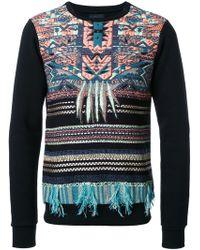 Yoshio Kubo - Embroidered Panel Sweatshirt - Lyst