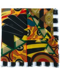 Givenchy - Egyptian Art Deco Printed Stole - Lyst
