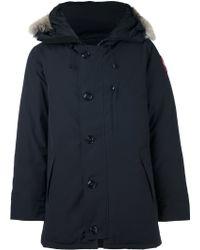 Canada Goose kensington parka sale fake - Canada goose Woolford Coat Fusion Fit in Multicolor for Men (Black ...