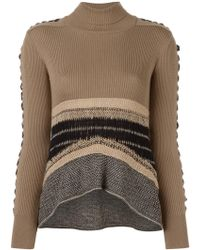 Mame - Laced Sleeve Jumper - Lyst