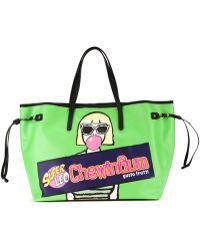 Leo - 'chewingum' Tote Bag - Lyst
