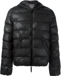 Hydrogen - Quilted Camouflage Padded Jacket - Lyst