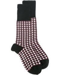 Marni - Square Print Socks - Lyst