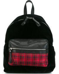 Fefe | Fefè Checked Pocket Backpack | Lyst