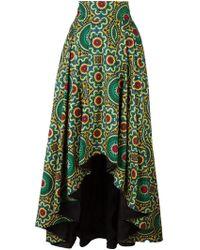 Ultrachic - Ultràchic Printed Maxi Skirt - Lyst
