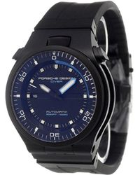 Porsche Design | 'diver Black Edition 1000m' Analog Watch | Lyst