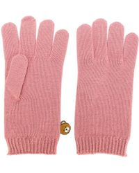 Moschino | Bear Engraved Gloves | Lyst