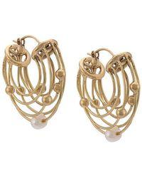 Ellery - Classical Scaffolding Earrings - Lyst