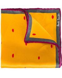 Paul Smith - Lip Print Pocket Square - Lyst