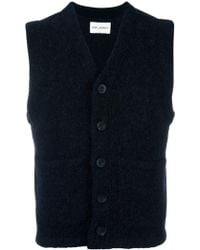 Our Legacy - Knitted Buttoned Vest - Lyst