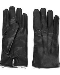 Canali - Interior Detail Gloves - Lyst
