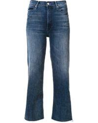 Mother 'the Maverick' Frayed Jeans