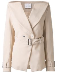 Dion Lee - Horizontal Trench Blazer - Lyst