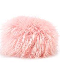 Mr & Mrs Italy - Fur Cossack Hat - Lyst