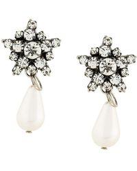 Rada' - Radà Pearl Pendant Earrings - Lyst