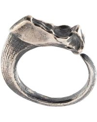 Julius - Curved Tooth Ring - Lyst