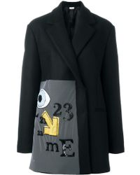 Au Jour Le Jour - Embroidered Coat - Lyst