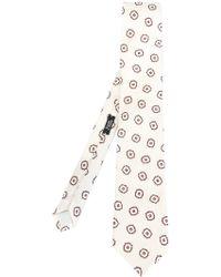 Fashion Clinic - Printed Tie - Lyst