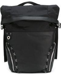 Diesel Black Gold - Lace-up Detailing Backpack - Lyst