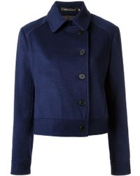 Andrea Marques - Buttoned Jacket - Lyst
