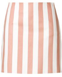 DROMe   Fitted Striped Skirt   Lyst