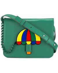 Yazbukey - Umbrella Patch Shoulder Bag - Lyst