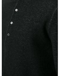Ma+ - Button Collar Jumper - Lyst